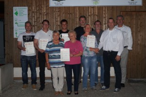 Jubilare TSV Cadolzburg 2015