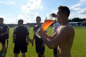 TSV Cadolzburg Aufstieg zur Bezirksoberliga, Spiel gegen Uffenheim Ressort: Lokales Fürth Foto: Fürth, 13.06.2015, Anestis Aslanidis
